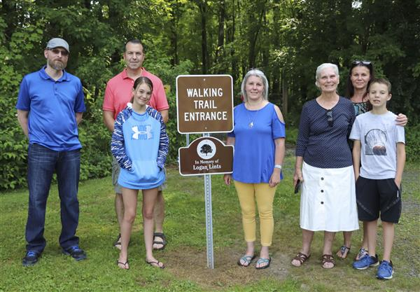 Walking Trail Dedicated in Memory of Logan Lints