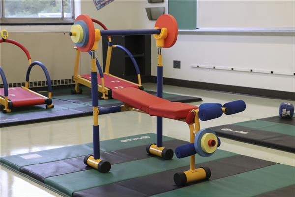 New Equipment Keeps Kids Active During School Day